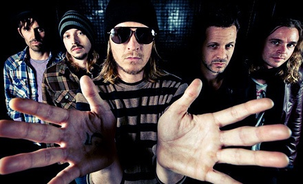 Puddle of Mudd at Eagle River Derby Track on Sat., May 19 at 5:30PM: General-Admission - Puddle of Mudd in Eagle River