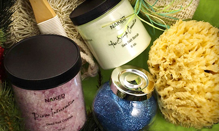 Naked Body + Bath - University Place: $15 for $30 Worth of Natural, Handmade Bath Products ($15 Value) at Naked Body + Bath