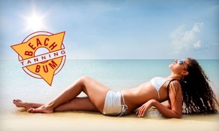 Beach Bum Tanning - Multiple Locations: $20 For One Customized Airbrush Tan (Up to a $45 Value) or $30 For One Week of Unlimited Tanning Any Level (Up to a $69 Value) at Beach Bum Tanning