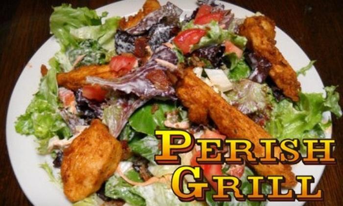 Perish Grill - Samoset: $10 for $20 Toward Dinner Fare at Perish Grill in Bradenton (or $5 for $10 Toward Lunch)