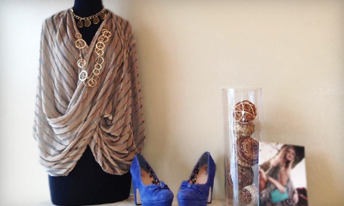 Hemline - Neartown/ Montrose: Designer Apparel and Accessories at Hemline (Up to 55% Off). Two Options Available.
