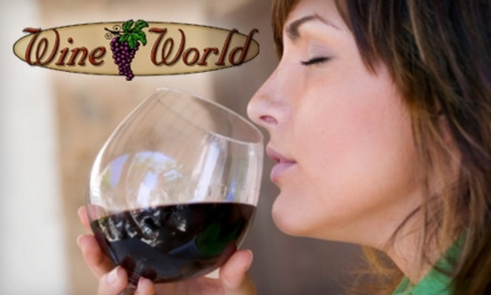 Wine World - North Augusta: $4 for Wine-Tasting Admission for Two on January 20 at Wine World ($8 Value)