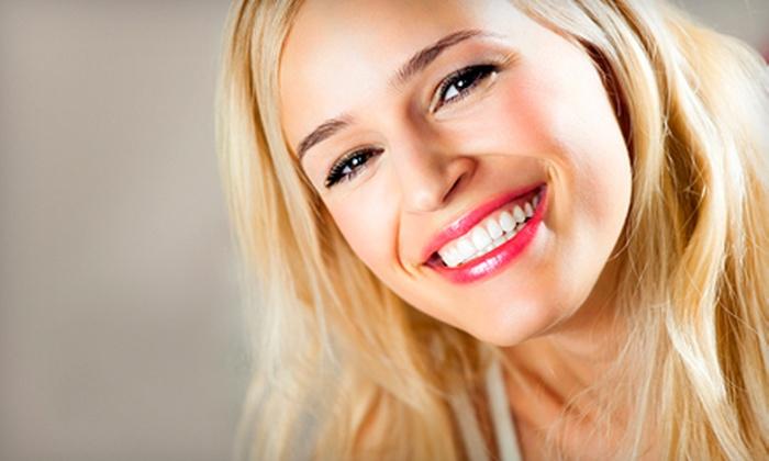 Sparkling Teeth Whitening Smile Clinic - Edmonton: Two or Three Laser Teeth-Whitening Treatments at Sparkling Teeth Whitening Smile Clinic (Up to 80% Off)