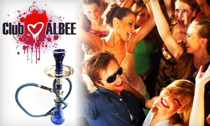Club Albee - Downtown Oklahoma City: VIP Treatment at Club Albee. Choose from Two Options.