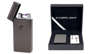 SaberLight Flameless Rechargeable Plasma Beam Lighter at SaberLight Flameless Rechargeable Plasma Beam Lighter, plus 6.0% Cash Back from Ebates.