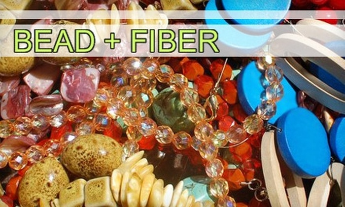 Bead + Fiber - South End: $20 for $40 Worth of Classes at Bead + Fiber
