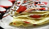 Holy Crepe! - Downtown Cambridge: $18 for Crepe Meal for Two at Holy Crepe! (Up to $42.50 Value)