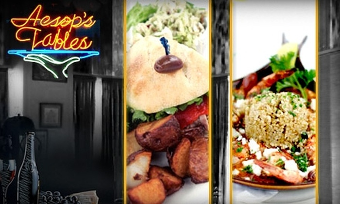 Aesop's Tables - Chatham-arch: $15 for $35 Worth of Mediterranean Fare at Aesop's Tables