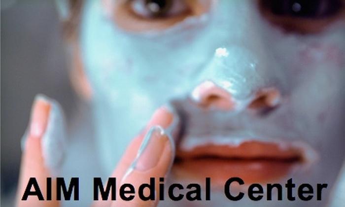 AIM Medical Center - Newport Beach: $45 for an Oxygenating Facial ($90 Value) or $60 for a Pumpkin Peel ($120 Value) at AIM Medical Center in Newport Beach