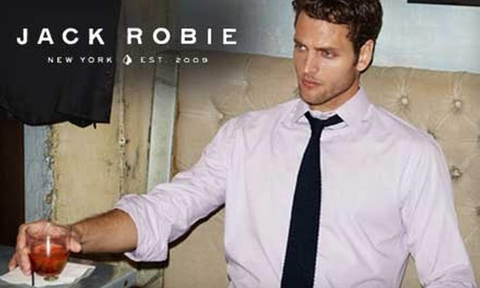 Jack Robie: $49 for $105 Worth of Dress Shirts from Jack Robie