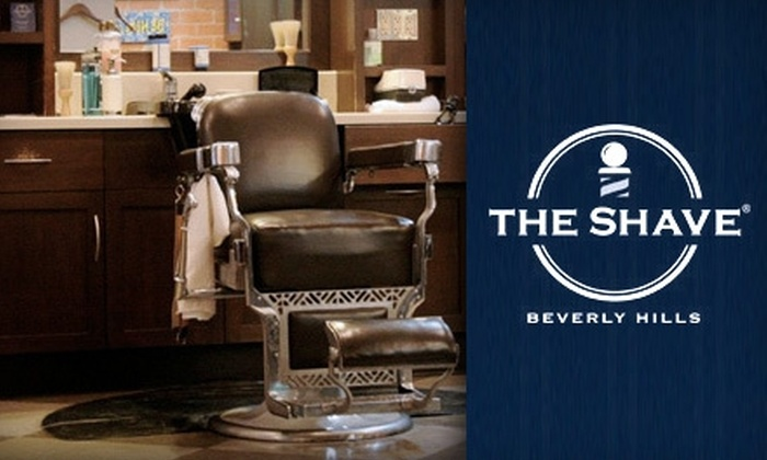 """The Shave of Beverly Hills - Beverly Hills: $25 for the """"Out in 30"""" Shave at The Shave of Beverly Hills ($50 Value)"""
