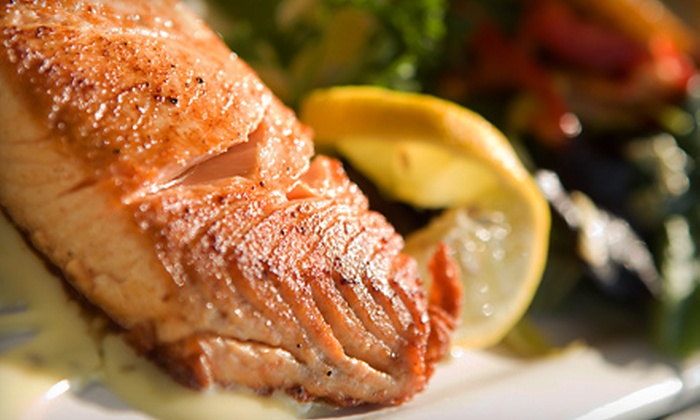 Moonstruck Food & Entertainment - South Elgin: Upscale American Dinner for Two or Four at Moonstruck Food & Entertainment in South Elgin