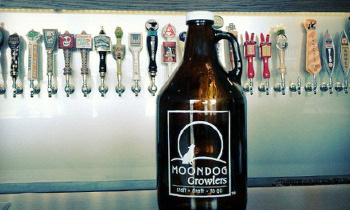 Moondog Growlers - Applewood: $19 for Two 64-Ounce Growlers with Craft Beer at Moondog Growlers in Marietta (Up to $39.98 Value)