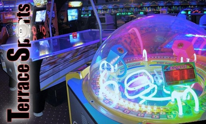 Terrace Sports - Temple Terrace: $20 for Laser Tag, Bowling, Pizza, and Drink at Terrace Sports