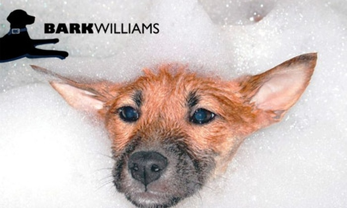 Bark Williams - Sunpark: $15 for Three Do-It-Yourself Dog Washings at Bark Williams ($45 Value)