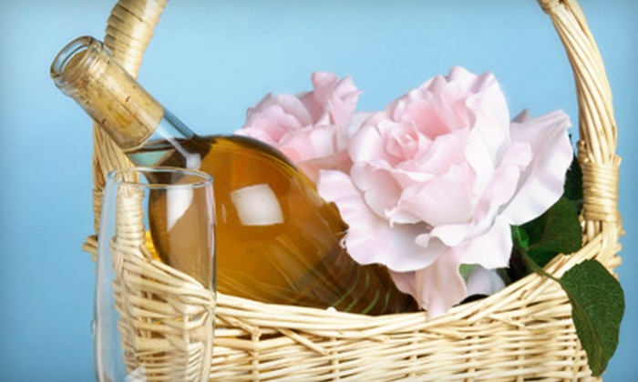 Attrezzi - Portsmouth: $50 for Upscale Wine Basket at Attrezzi in Portsmouth ($100 Value)