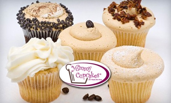 Yummy Cupcakes - Multiple Locations: $10 for Six Cupcakes at Yummy Cupcakes (Up to $21 Value)