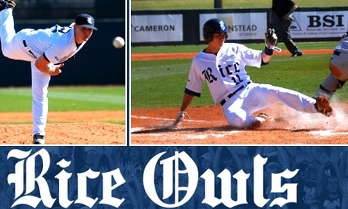 Rice University Owls - University Place: $5 Ticket to One of Six Rice University Owls Baseball Games in May ($10 Value)
