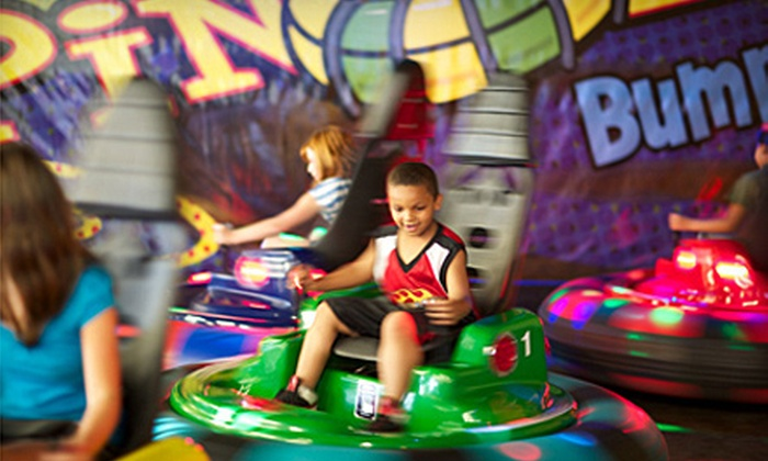 Putt-Putt Fun Center - South View: $20 for Five Attractions and 40 Game Credits at Putt-Putt Fun Center in Fayetteville ($42.50 Value)