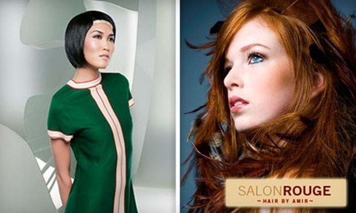 Salon Rouge - Byward Market - Parliament Hill: $25 for a Women's Haircut and Style ($50 Value) or $18 for a Men's Haircut and Style ($36 Value) at Salon Rouge