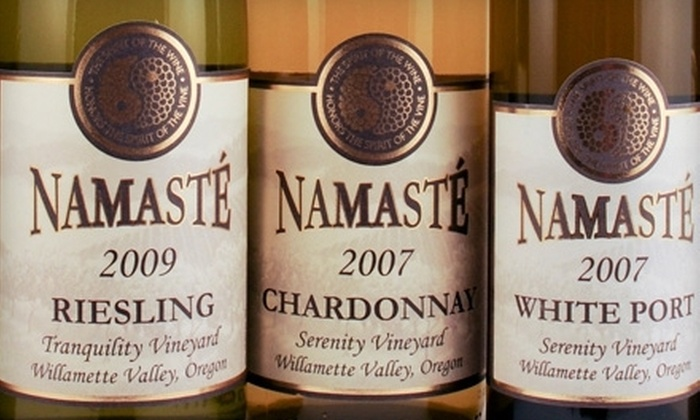 Namaste Vineyards - Dallas: Wine Tasting for Two or Four with Souvenir Glasses at Namaste Vineyards in Dallas (58% Off)