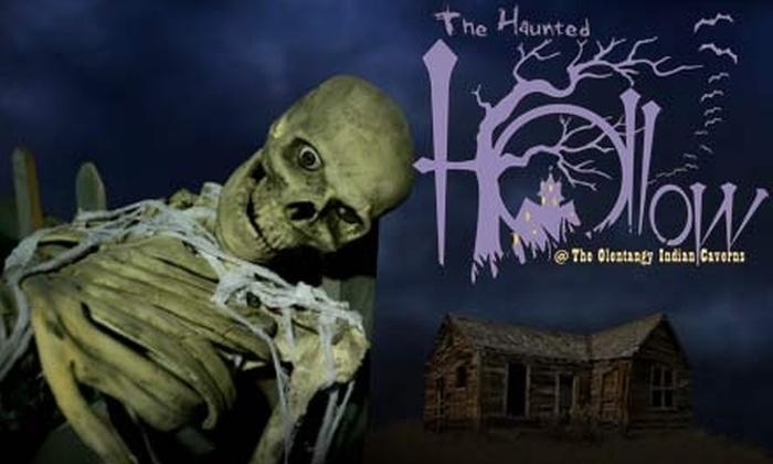 The Haunted Hollow - Liberty: $7 for Combo Ticket for Haunted Forest and Maze at Haunted Hollow in Delaware ($13.50 Value)