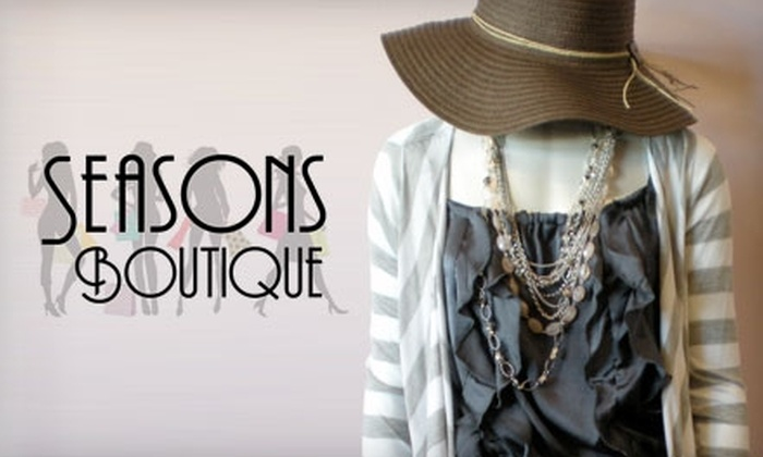 Seasons Boutique - Salt Lake City: $20 for $45 Worth of Clothing & Accessories at Seasons Boutique in Sandy