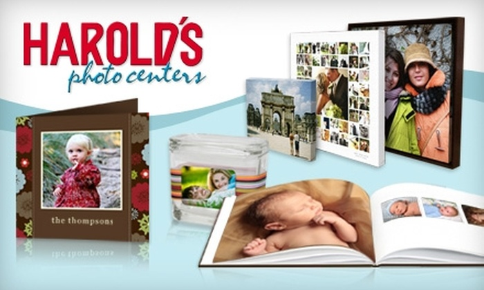 Harold's Photo Centers - Multiple Locations: $20 for $50 Worth of Photo Finishing Services at Harold's Photo Centers
