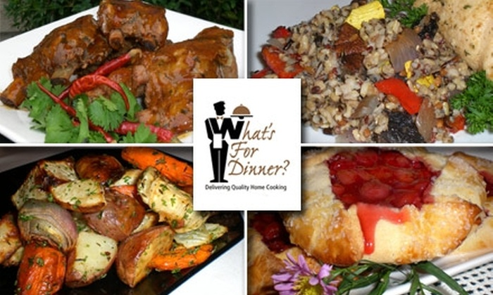 What's for Dinner - Sellwood - Moreland Improvement League: $35 for $70 Worth of Prepared Gourmet Meals From What's for Dinner