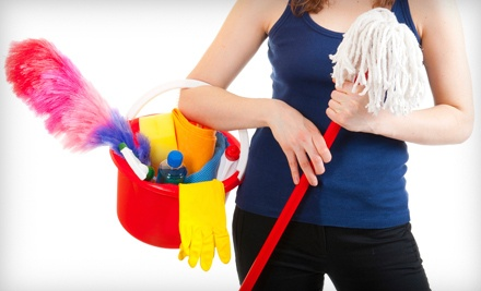One 1.5-Hour House-Cleaning Session with 2 Cleaners (a $180 value) - Magic Wand Home Services in