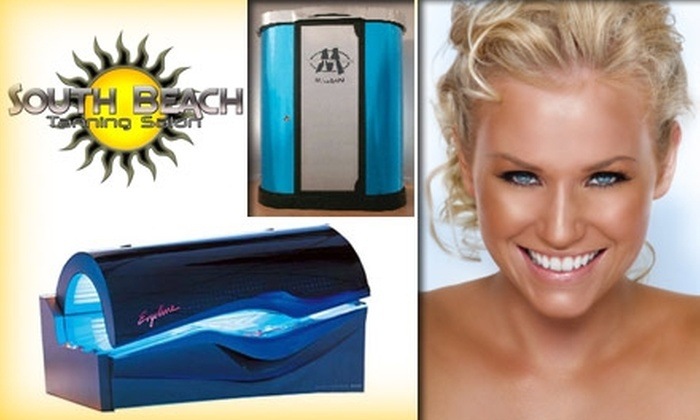 South Beach Tanning Salon - Washington DC: $24 for 30 Days Unlimited Tanning or Two Mystic Tans at South Beach Tanning Salon ($50 Value)