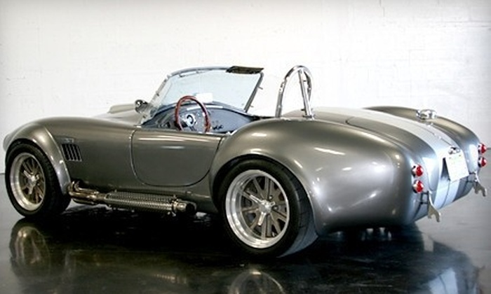 Imagine Lifestyles - Multiple Locations: $99 for One-Hour Driving Experience in a Vintage Shelby Cobra or Porsche Spyder from Imagine Lifestyles ($449 Value)