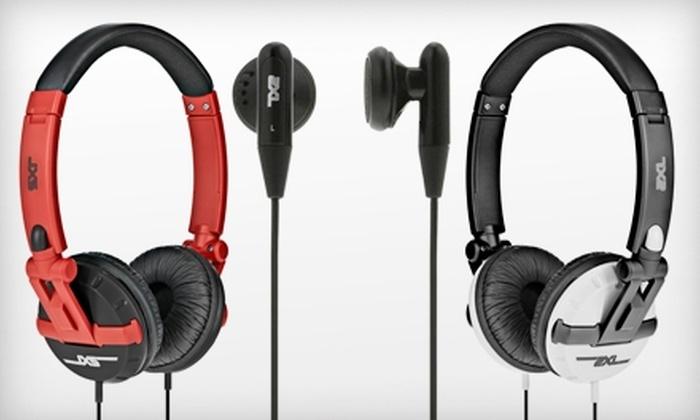 Skullcandy: Ratio Ear Bud Headphones or Shakedown Headphones, Including Shipping from 2XL by Skullcandy