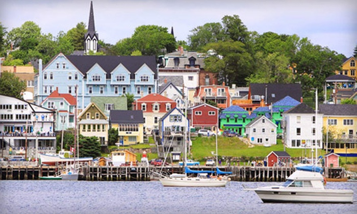The Mariner King Inn and Hotel - Lunenburg: One- or Two-Night Stay for Two with Dinner and Wine at The Mariner King Inn and Hotel in Nova Scotia