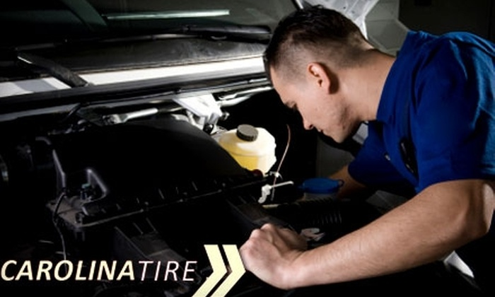 Carolina Tire - Pineville: $25 for $50 Worth of Automotive Services at Carolina Tire in Pineville