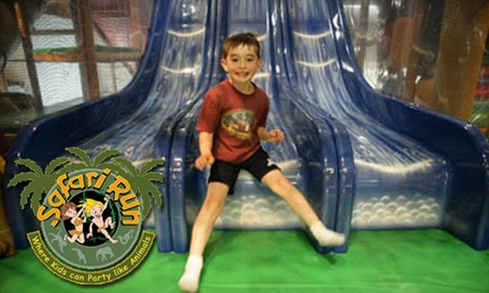 Safari Run - Shoreview: $35 for 10 One-Hour Children's Open-Play Sessions at Safari Run in San Mateo