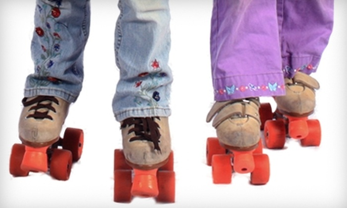 Rollhaven Skate & Fun Center - Grand Blanc: $12 for Two Admissions, Two Skate Rentals and Two Sodas at Rollhaven Skate & Fun Center in Flint (Up to $24 Value)
