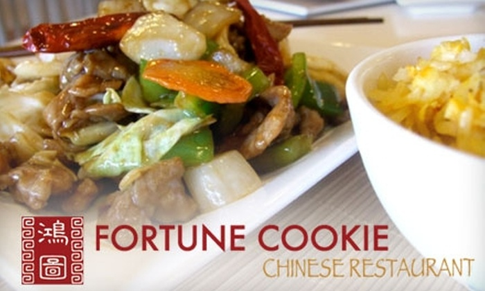 Fortune Cookie Chinese Restaurant - Caprock: $5 for $10 of Chinese Fare and Drinks at Fortune Cookie Chinese Restaurant