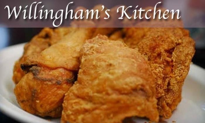 Willingham's Kitchen - Stockbridge: $10 for $20 Worth of Soul Food and Drinks at Willingham's Kitchen in McDonough