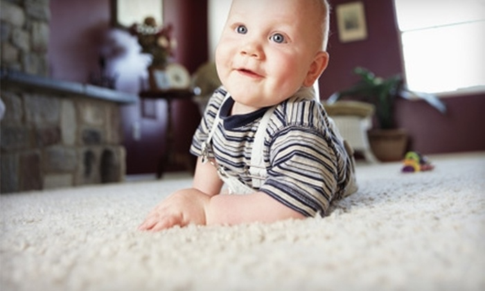 Mass Carpet Cleaning - Madison: $40 for Two Rooms of Carpet Cleaning from Mass Carpet Cleaning ($94.95 Value)