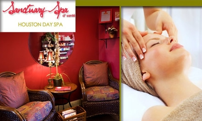 Sanctuary Spa - Greenway/ Upper Kirby: $50 for $100 Worth of Services at Sanctuary Spa