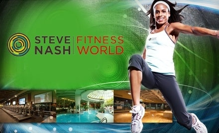 Steve Nash Fitness World - Steve Nash Fitness World in Langley