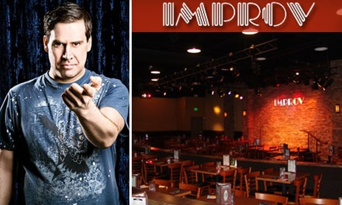 Denver Improv - Stapleton: $22 for One Free Appetizer, Two Tickets to a Show, and Four Tickets to a Future Show at Denver Improv (Up to $111 Value)