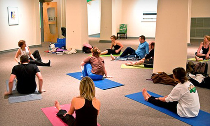 Yoga with Mitzi - Downtown Huntsville: $15 for Yoga Class for Two at Yoga with Mitzi ($30 Value)