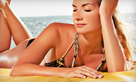 1 Custom Airbrush Tan (a $40 value) - Sun City Tanning in Concord