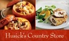 Husick's Country store - OOB - Clarksburg: $50 for a Four-Course Wine-Pairing Dinner for One Person at Historic Husick's Country Store (Up to $178 Value)