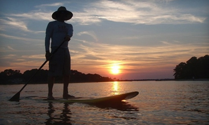 Beach Eco Tours - Northeast Virginia Beach: $25 for a 90-Minute Stand-Up Paddleboarding Tour from Beach Eco Tours in Virginia Beach ($50 Value)
