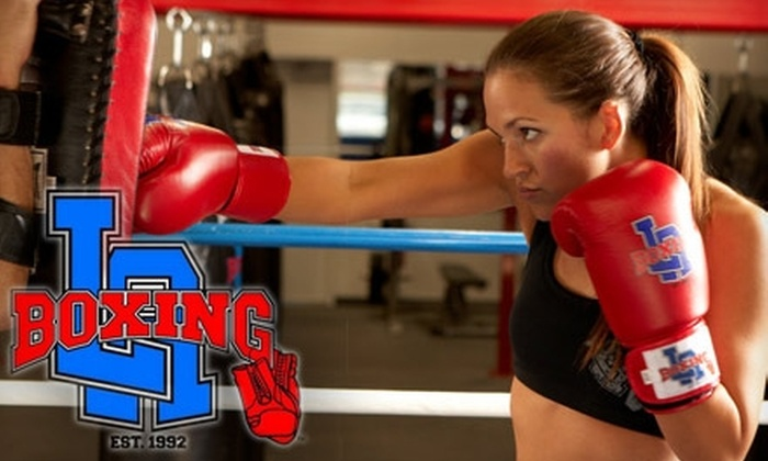 LA Boxing - Multiple Locations: $55 for One Month of Unlimited Classes and Use of Gear at LA Boxing ($178.98 Value)