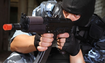 1-Day Indoor Airsoft Package (up to a $65 value) - Vanguard Indoor Playground in Gilbert