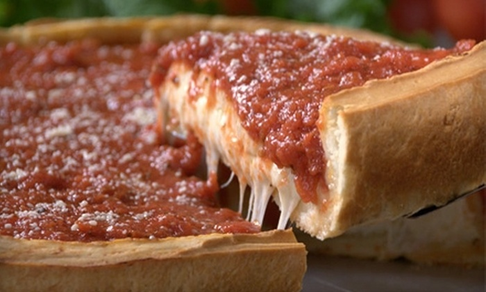 Giordano's Restaurant and Pizzeria - Multiple Locations: $17 for $35 Worth of Pizza and Drinks at Giordano's Restaurant and Pizzeria. Three Locations Available.